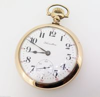 Pocket watch english harrington brisbane vintage antique